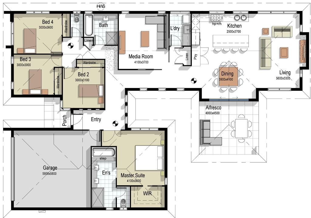 The Alexandria House Plan