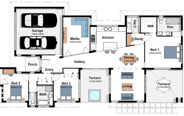 The Greenland – House Plan