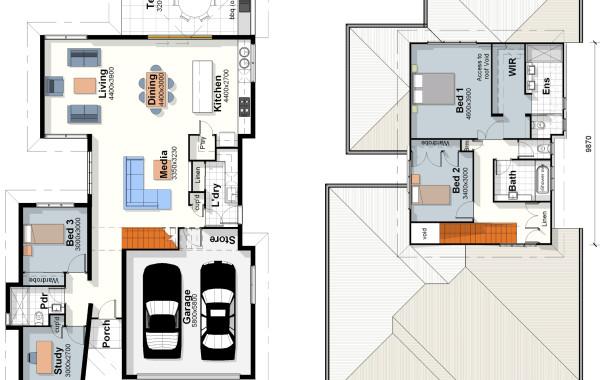 The Hampton – House Plan
