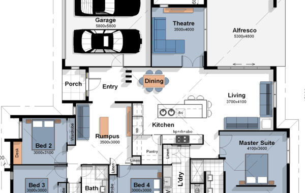The Lisbon – House Plan