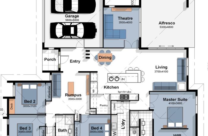 The Lisbon – House Plan