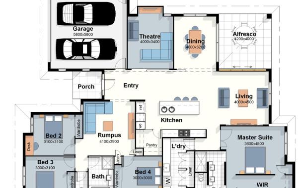 The London – House Plan