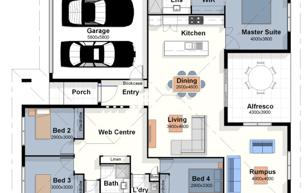 The Los Angeles – House Plan