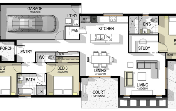The Madrid – House Plan