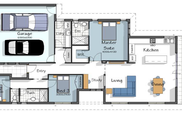 The Rialto House Plan