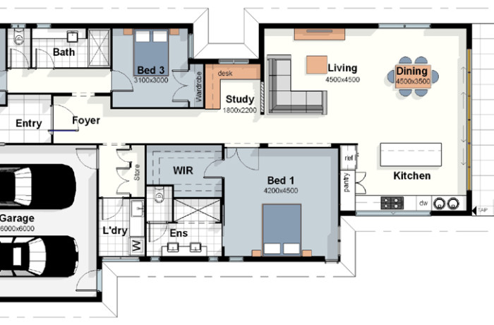 The Rio House Plan