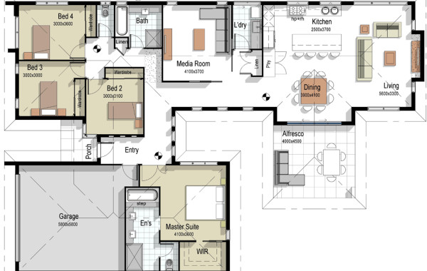The Alexandria – House Plan