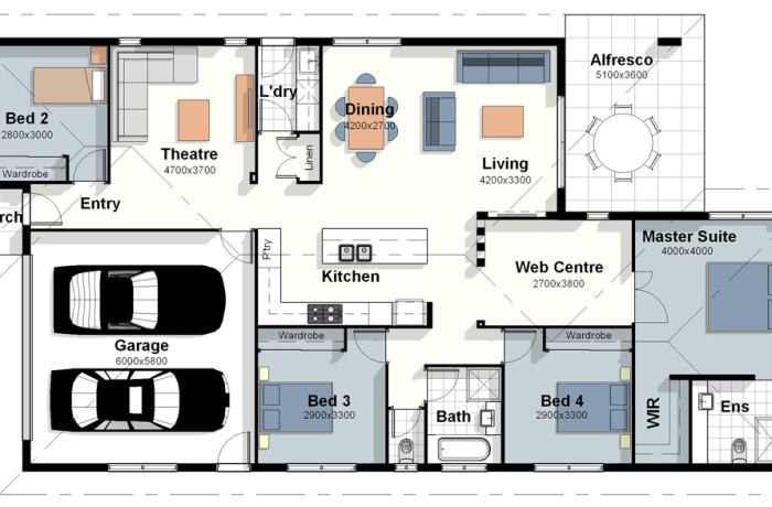 The New York – House Plan