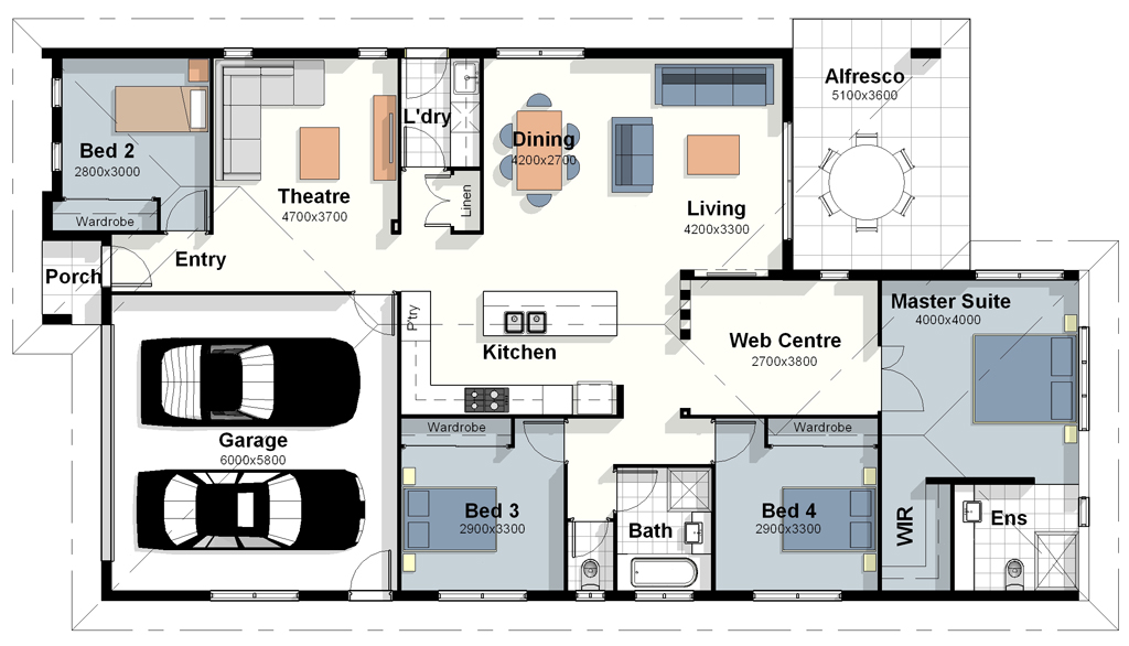 The new york house plan New home plans
