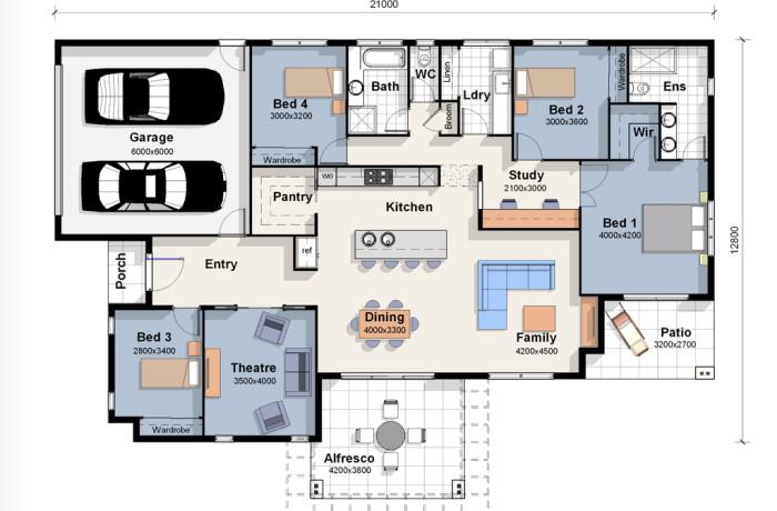 The Paris House Plan