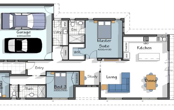 The Rialto House Plan
