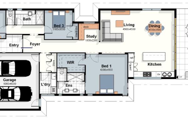 The Rio House Plan